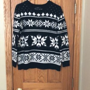 Forever 21 Fair Isle Sweater Small S